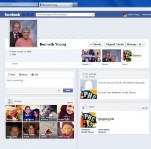Dad's FB Wall as I see it