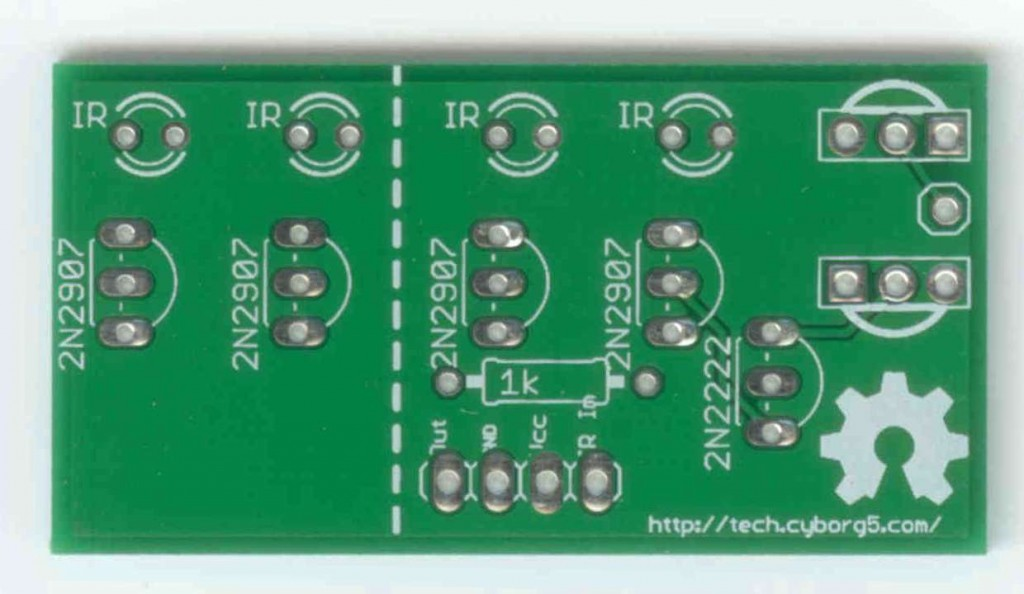 My IRIO Board (front)