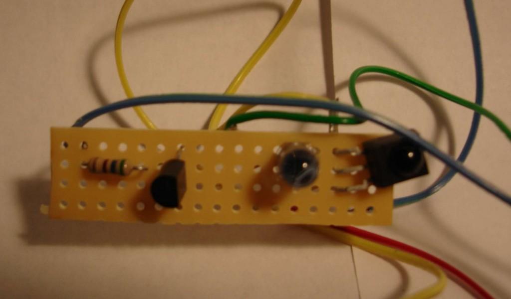 Homemade IR Transceiver Module