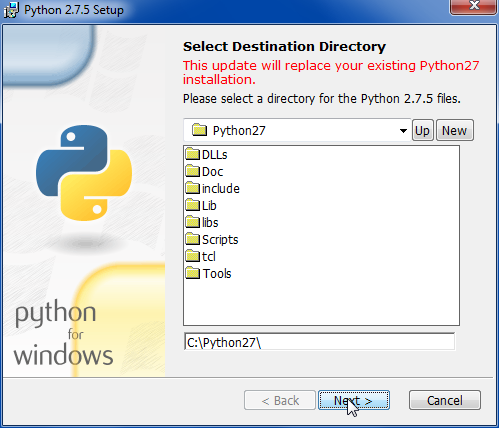 how to call python 3 in windows