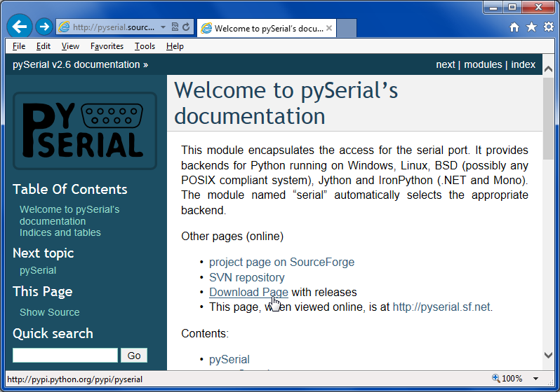 IRLib Tutorial part 3c: Python, PySerial and PyGame Installation on